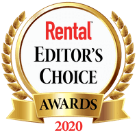2020 Rental Editors Choice Awards 2100SJ