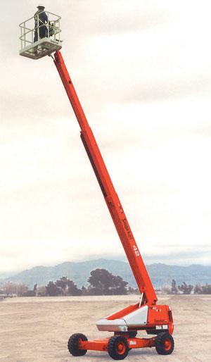 The first Snorkel EWP – TB42 boom lift