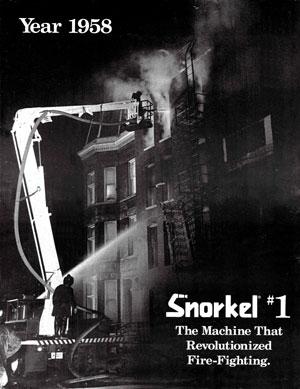 Snorkel, the machine that revolutionized fire-fighting